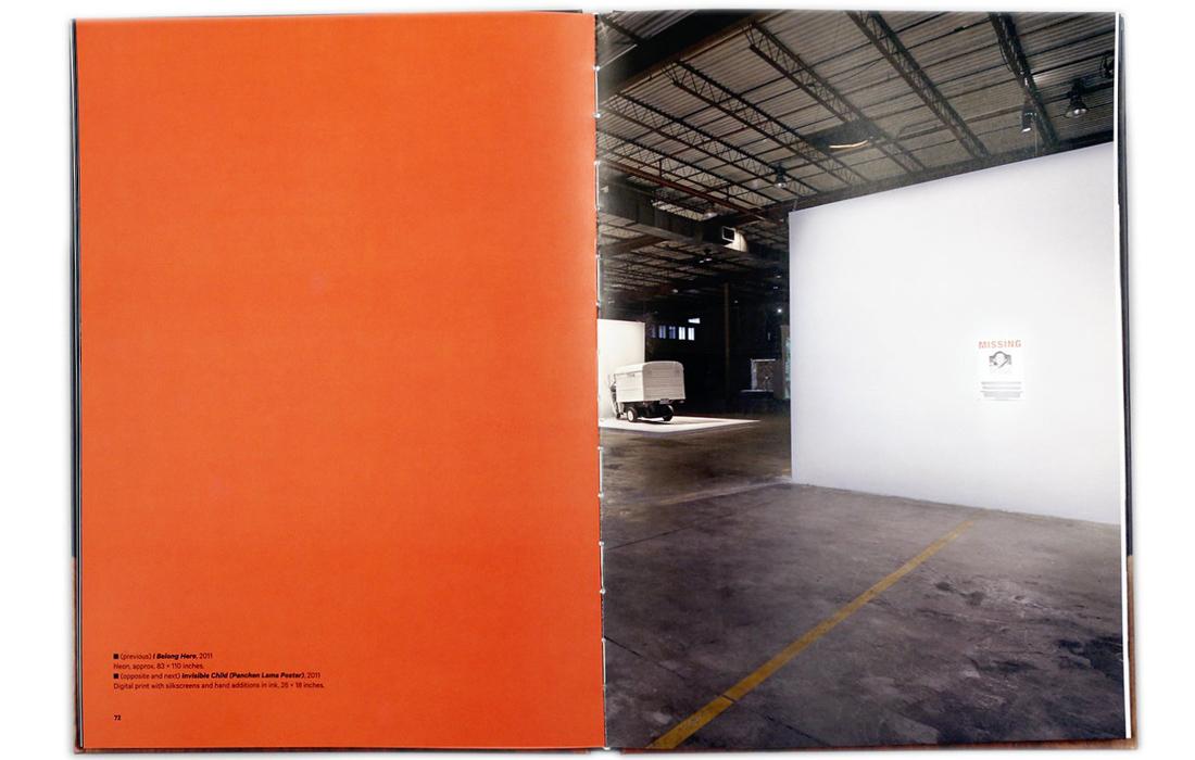 Monograph spread