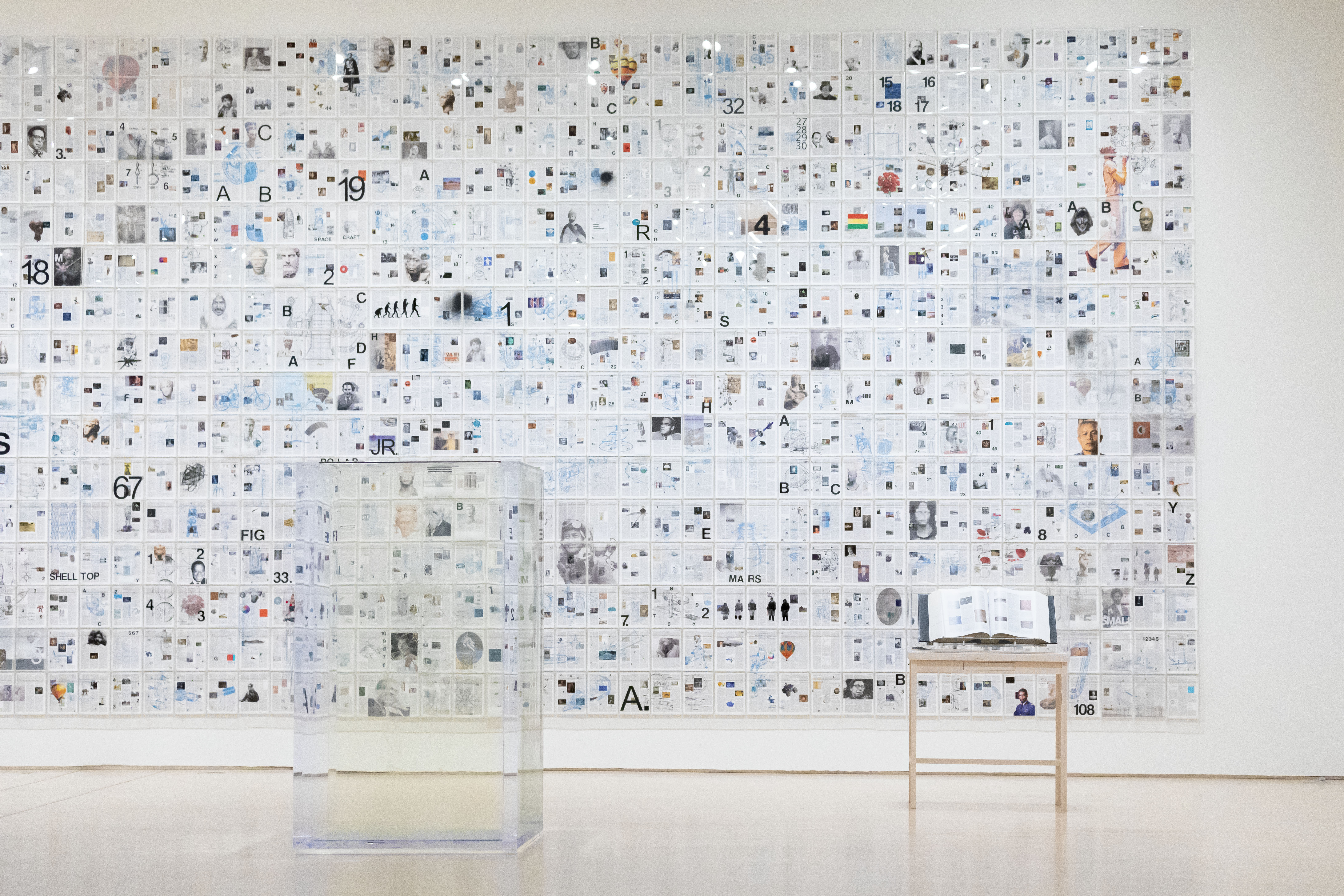 The Encyclopedia of Invisibility (installation view)